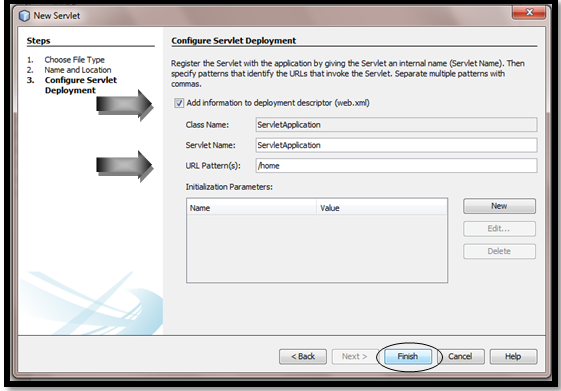 Servlet in NetBeans IDE