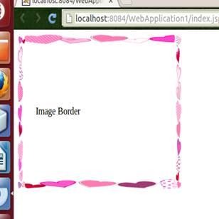 Imaged Border Output