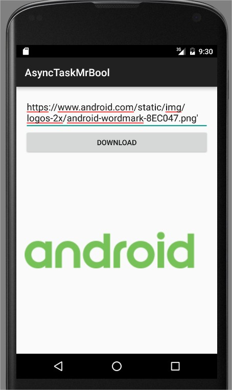Working with AsyncTask in Android