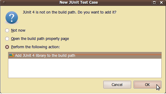 adding junit libs