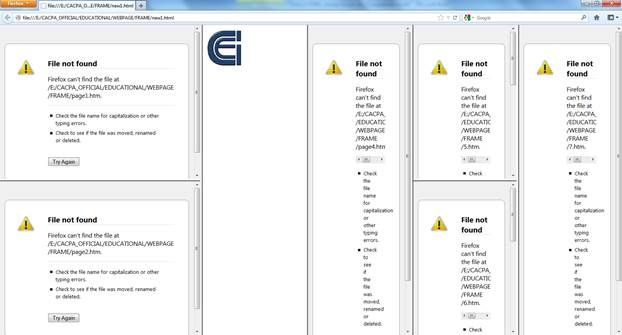 HTML Frames Overview