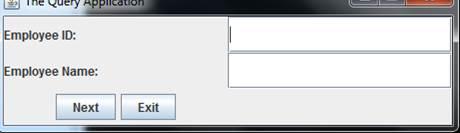 Displaying input window
