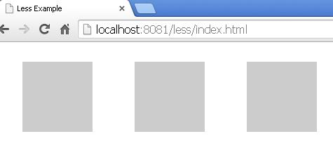Output of index.html