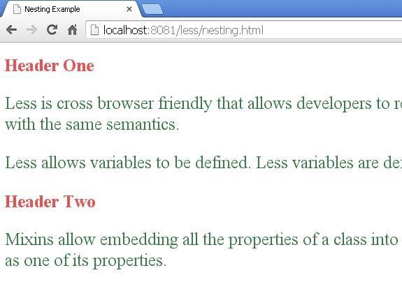 Output of nesting.html