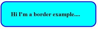 Example for border radius