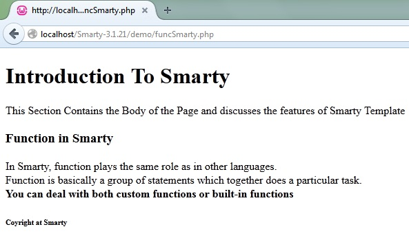 How to Create Websites in Smarty PHP Template