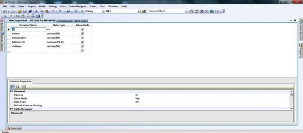 how to create table with identity column in sql server
