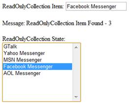 Find Facebook Messenger in ReadOnlyCollection