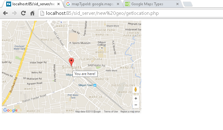How to track Users Registration location in Google Maps