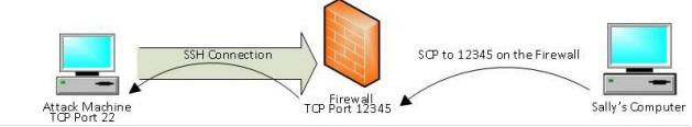 Reverse Port Forwarding
