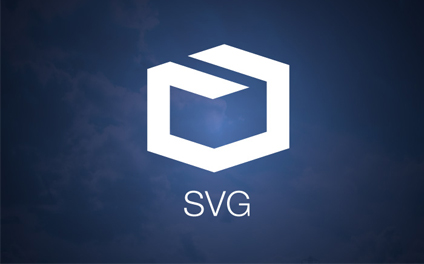 High resolution images using SVG