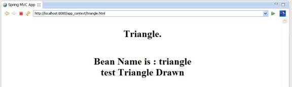 triangle.html page loaded