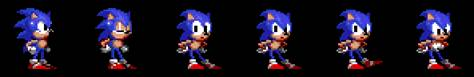 Sonic animation images