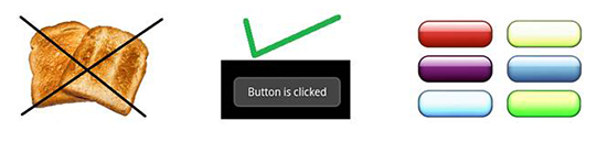 Image Buttons and Toast
